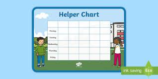 Helpers Chart Editable Helper Chart Helper Timetable Being A Good