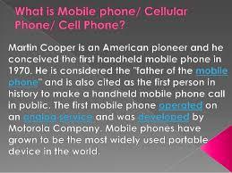 advantages and disadvantages of mobile phone 2  improve communication