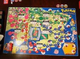 Pokemon master trainer 2 board game rules