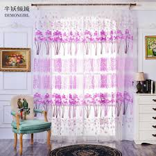 Purple Curtains For Living Room Compare Prices On Sheer Purple Curtains Online Shopping Buy Low