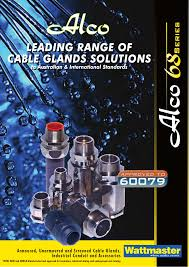 Alco Cable Gland Chart Leading Range Of Cable Glands Solutions Leading Range