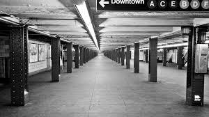 empty subway train.  Empty Empty Subway Station  NYC  By Vishpool For Train O
