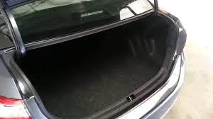 2014 Toyota Corolla Sedan - Checking Out Cargo Area Space - Trunk ...