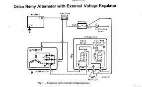 externally regulated delco alternator wiring diagram wiring alternator external regulator wiring diagram simple wiring diagram externally regulated delco