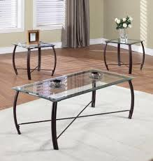 coffee table surprising black rectangle antique glasetal glass coffee and end table sets