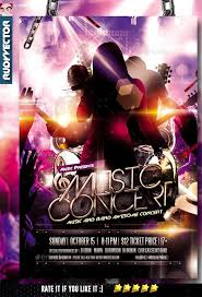 Concert Flyer Template For Word Music Flyer Psd Konmar Mcpgroup Co