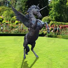 life size unicorns life size bronze unicorn statue affordable price vincentaa sculpture