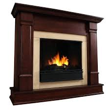 ideas ventless gel fireplace for real flame gel fireplace dark mahogany 74 ventless gel fireplace insert