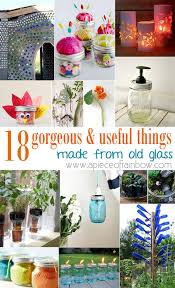 18 gorgeous useful things made from old glass