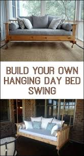 hanging daybed swing. Fine Hanging How To Build A Hanging Daybed Swing  DIY Projects For Everyone To Hanging Daybed Swing F