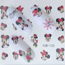 Samolepky Na Nehty Vodní Obtisky Mickey Mouse Nail Art Design