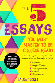 teenagers the 5 essays you must master to be college ready