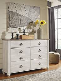 white wash dresser. Willowton - Whitewash Dresser White Wash O