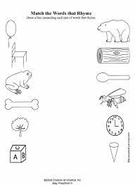 Rhyming Worksheets - via LoveToTeach.org (Free Printable PDF's)
