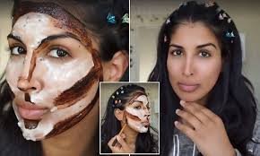 beauty ger farah dhukai reveals how to contour and highlight your face daily mail