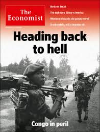 economist cover congo is heading back to hell this weeks the economists cover