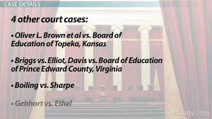 brown v board of education case summary significance video brown v board of education case summary significance video lesson transcript com