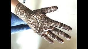 Indian Traditional Mehndi Design Hands Learn Simple Traditional Indian Mehendi For Hands Easy Rajasthani Henna Mehndi Design Tutorial