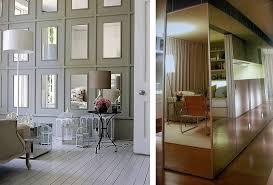 ... Perfect Mirrors Interiors Designs Idea: Fascinating Mirrors Interiors  Designs Ideas Chrome Closet Wooden Floor ...