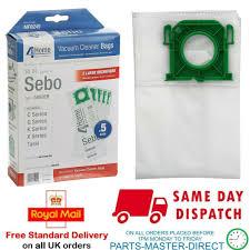 SEBO X4 <b>X5</b> UpRight <b>Automatic</b> Vacuum Cleaner Bags