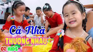 Cả Nhà Thương Nhau ♫ Ba Thương Con Vì Con Giống Mẹ ♫ Bé MinChu ♫ Nhạc Thiếu  Nhi Cho Bé - YouTube