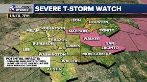 SEVERE THUNDERSTORM WATCH ends for the ...