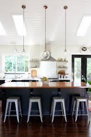 midcentury kitchen mini pendant lighting over island google search