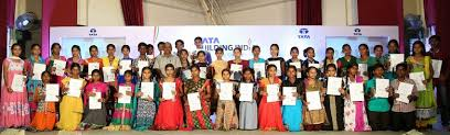 group felicitates city level winners of building dr masana chennappa building school essay competition 2014 15 city level winners from telangana and seemandhra