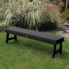 backless garden bench plans