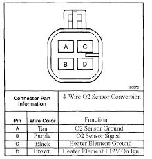 gm o2 sensor wiring diagram how to install a heated o2 sensor