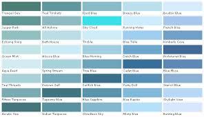 Pantone Color Blue Chart Aqua Blue Color Chart Bedowntowndaytona Com