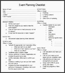 event planning questionnaire 5 conference planning checklist design sampletemplatess