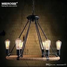 light vintage bulb pendant light fitting style rope drop lamp re antique suspension for living