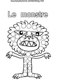 Les Monstres Gommettes Imprimer Les Fichiers Cliquez Coloriage Coloriage Yeux De Monstre A Imprimer Coloriage Bouche De Monstre L