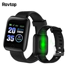 D13 Smart Watch <b>116 Plus</b> Smart Bracelet Fitness Tracker Blood ...