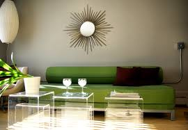 White And Green Living Room Beautiful White Green Yellow Wood Glass Cool Design Spanish