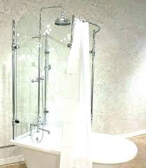 tub shower conversion tub shower conversion kits kit surround for glass claw foot tub shower conversion