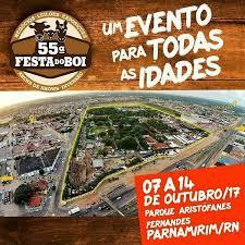 Resultado de imagem para GOVERNO RN: 55ª FESTA DO BOI OUTUBRO/2017