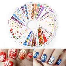 45 pcs set water transfer nail sticker decals manicure diy nail art stickers
