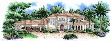 house plans beachfront homes inspirational mediterranean house plan coastal tuscan waterfront home floor plan