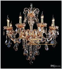 amber crystal chandelier amber crystal chandelier pertaining to contemporary property amber crystal chandelier drops