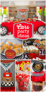 Cars Party Decorations Cars Disney Birthday Cars Party In A Double Celebration The