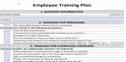 workout excel templates employee training plan excel template expiration reminder