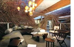 since i work as a creative in advertising i stumbled upon the amazing sculptures of patrick dougherty through his bird nest installation for the ad agency ad agency office design