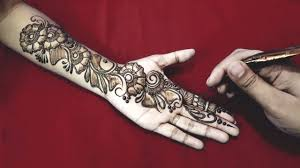 New Easy And Simple Floral Arabic Henna Design For Hands Mehndi