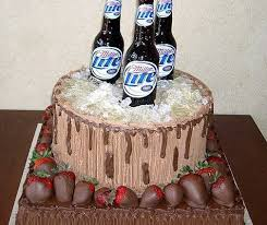 Cake Design For Men Simple