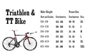 67 Punctual Time Trial Bike Size Chart