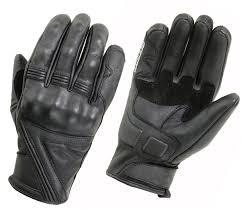 custom motorbike leather gloves