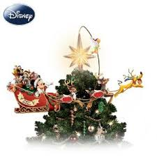 This impressive tree topper doesn't just go on the very top of the tree, it  practically encircles the top.