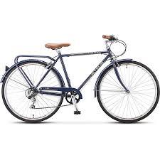 "<b>Велосипед Stels Navigator 360 28</b> V010, синий, 20,5"" - купить по ..."